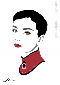 Hepburn-finished
